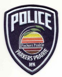 Parkers Prairie police logo