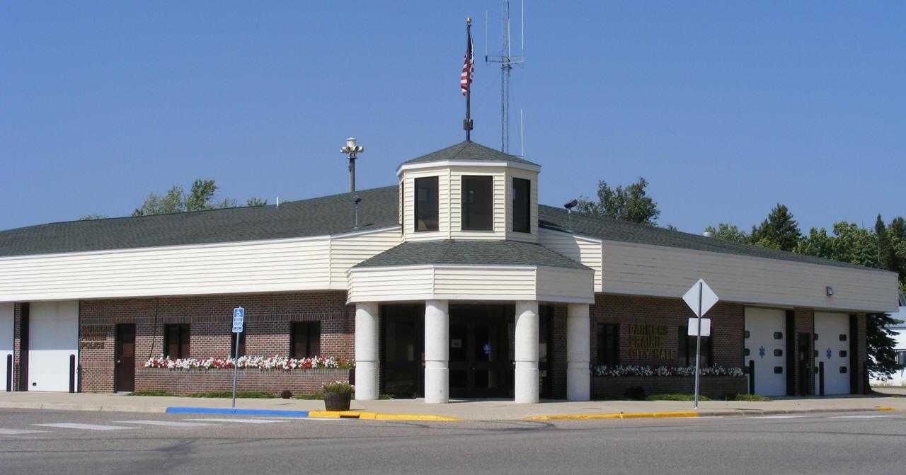 Parkers Prairie City Hall