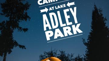 Tent Camping at Lake Adley Park