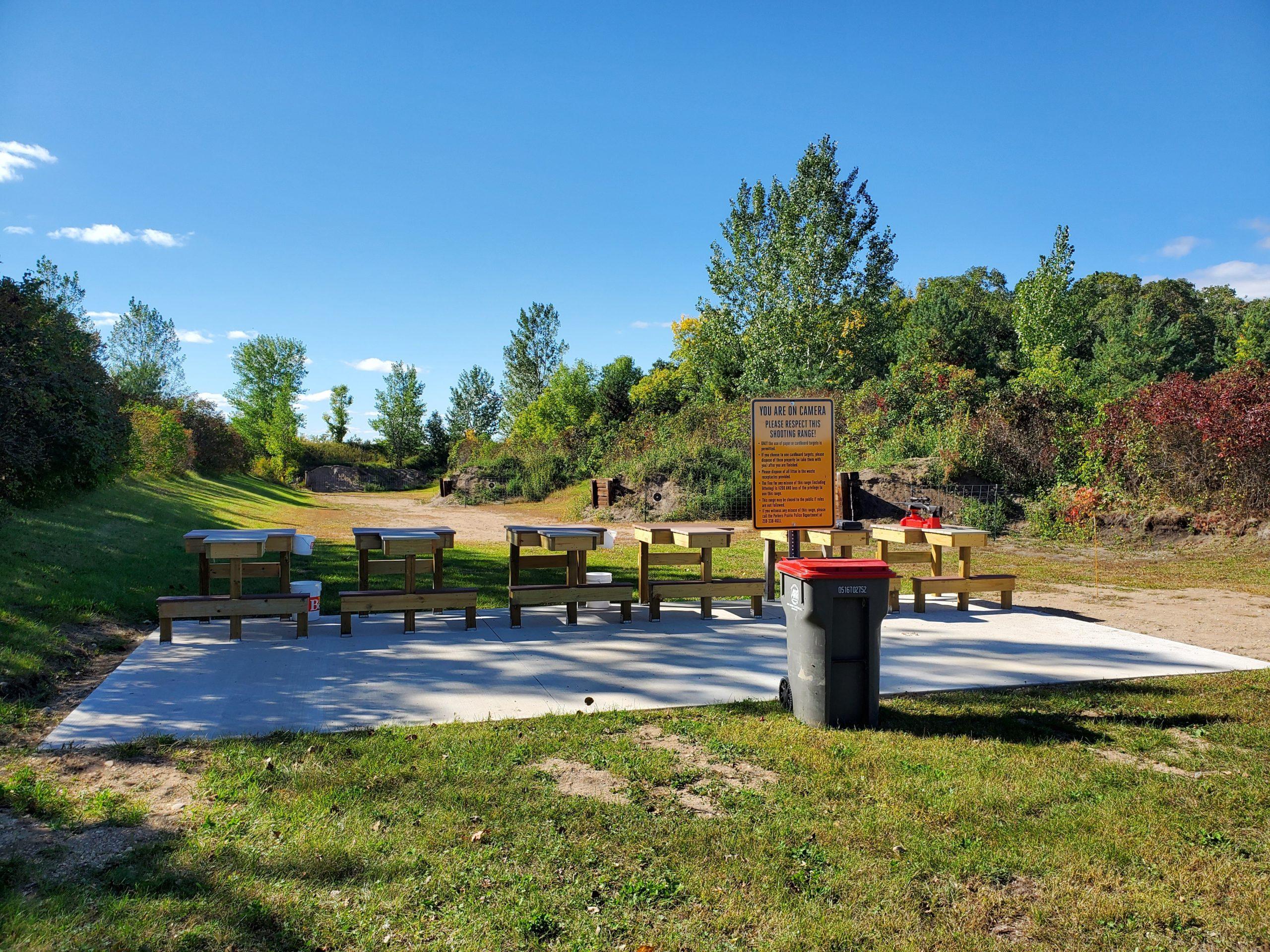 Parkers Prairie Shooting Range 2020