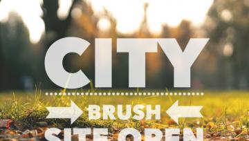 City Brush Site is Open