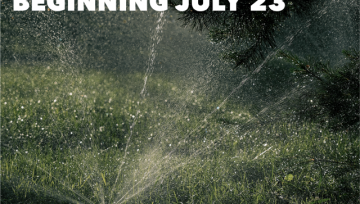 Drought Warning Restrictions